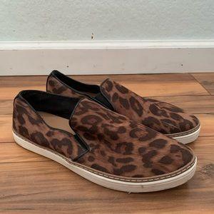 Cheetah Print Slip-Ons